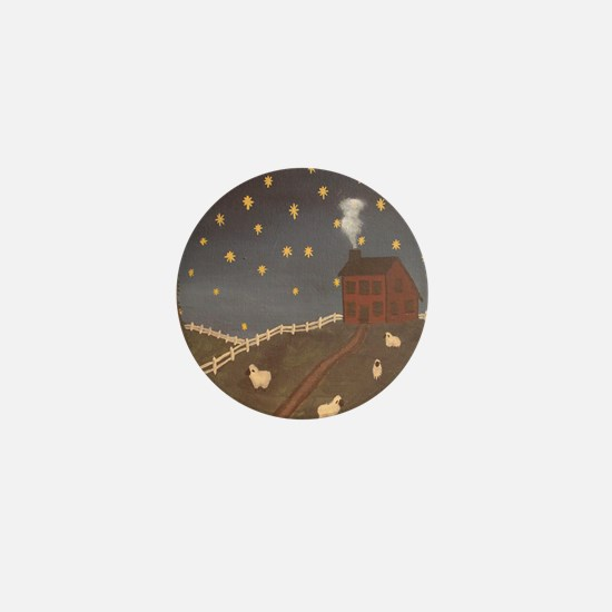 Night Night Sheepies Mini Button
