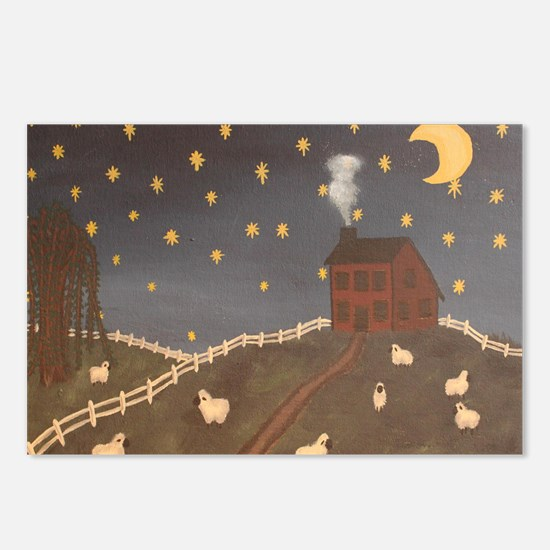 Night Night Sheepies Postcards (Package of 8)