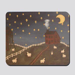Night Night Sheepies Mousepad