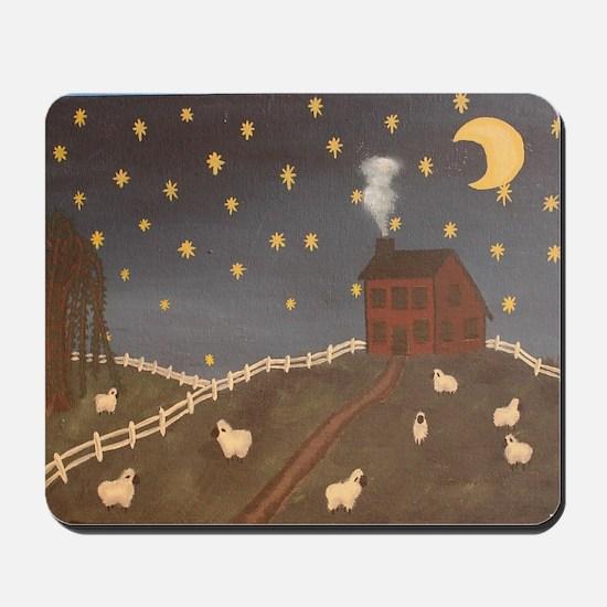 Night Night Sheepies Mousepad