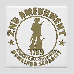 Minutemen, the Original Homesland Sec Tile Coaster
