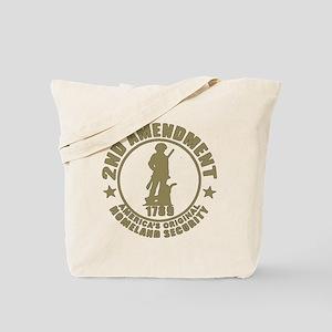 Minutemen, the Original Homesland Securit Tote Bag