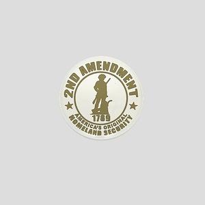 Minutemen, the Original Homesland Secu Mini Button