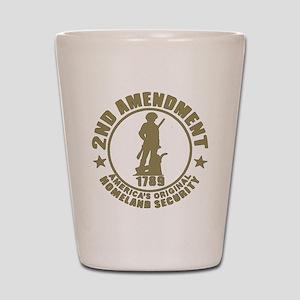 Minutemen, the Original Homesland Secur Shot Glass