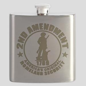 Minutemen, the Original Homesland Security Flask