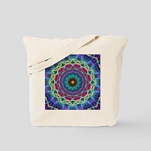 Inward Flower Tote Bag