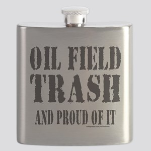 OIL FIELD TRASH T-SHIRTS AND GIFTS Flask