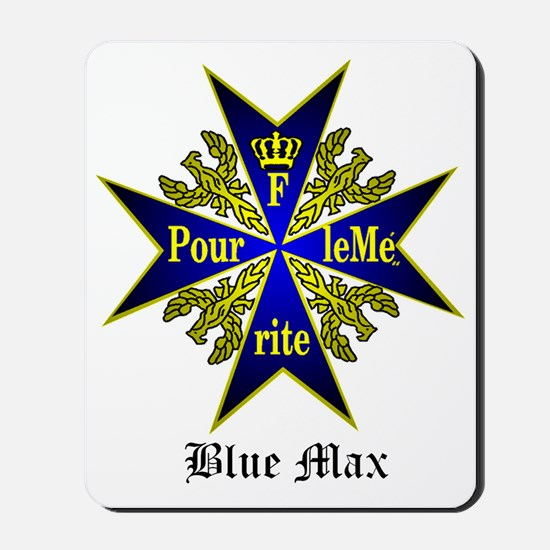 Blue Max Mousepad