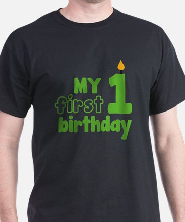 firstBirthCandle1C T-Shirt