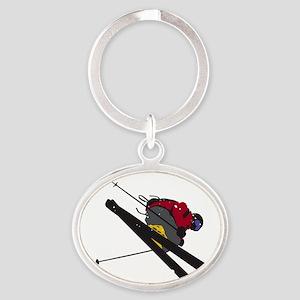 Big Air Oval Keychain