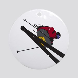 Big Air Round Ornament