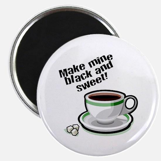Black & Sweet Coffee Magnet