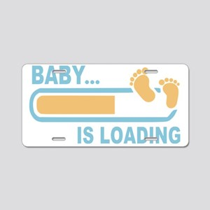 Baby is Loading Aluminum License Plate