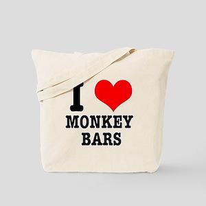 I Heart (Love) Monkey Bars Tote Bag