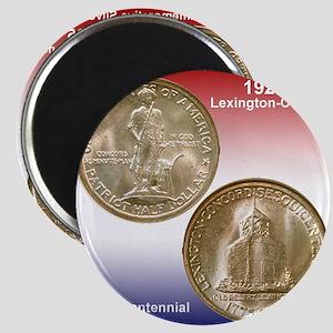 1925 Lexington-Concord Bear Magnet