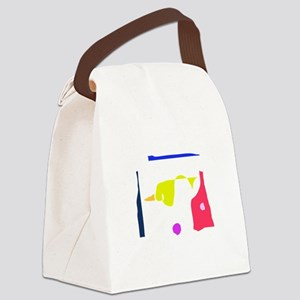 At the End of the Hallway Canvas Lunch Bag