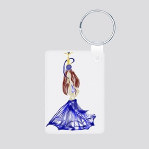 Namir Aluminum Photo Keychain