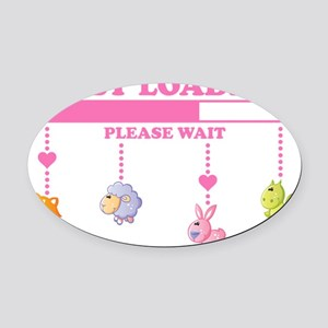Baby Toys Oval Car Magnet