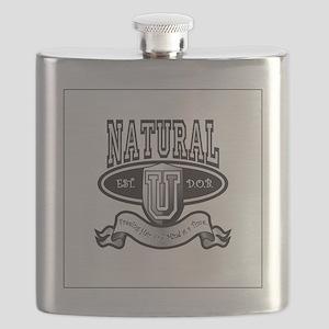 Natural U Medium Flask