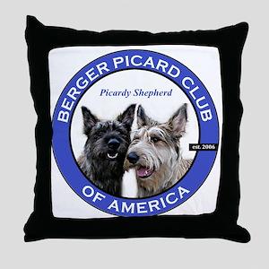 Current Logo Throw Pillow