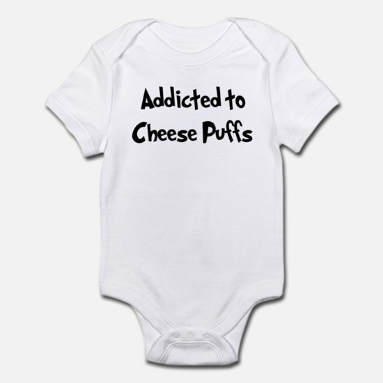 Addicted to Cheese Puffs Infant Bodysuit