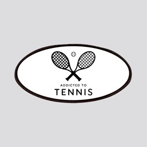 Tennis Addicted. Color choices. * BEST SELLE Patch