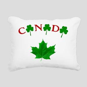 Canadian Irish Rectangular Canvas Pillow