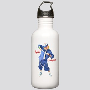 Blue Promo Stainless Water Bottle 1.0L