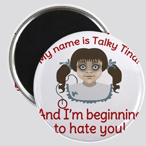 Talky Tina Twilight Zone Magnet