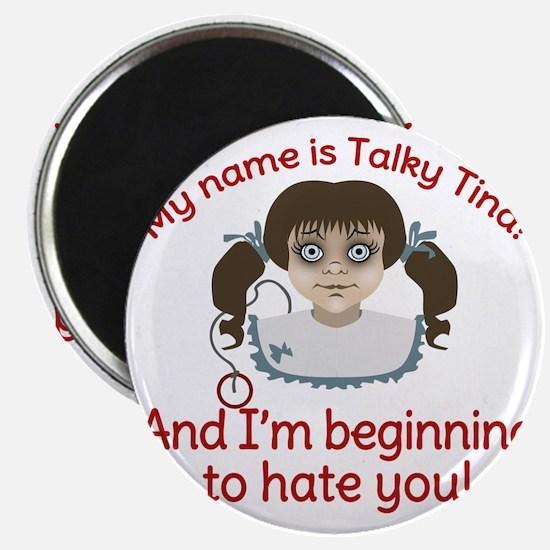 Talky Tina Twilight Zone Magnet