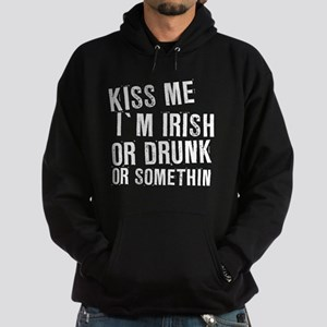 Kiss Me For Some Reason Hoodie (dark)