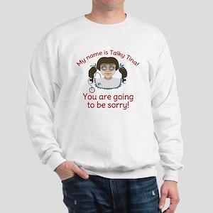Talky Tina Evil Doll Sweatshirt