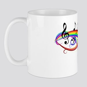 Bright Musical Shirt Mug