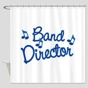 Band Director Shower Curtain