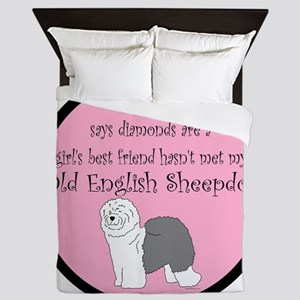 Girls Best Friend Queen Duvet
