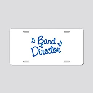 Band Director Aluminum License Plate