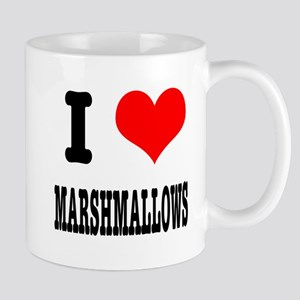 I Heart (Love) Marshmallows Mug