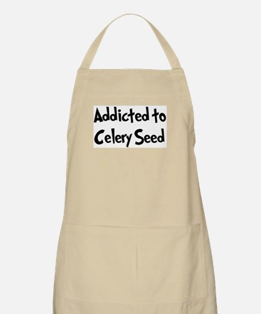 Addicted to Celery Seed BBQ Apron