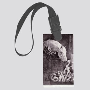 The Mothers Meeting Large Luggage Tag