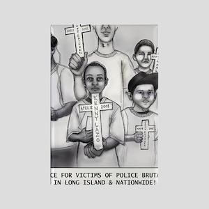 JKC - Long Island Stolen Lives Rectangle Magnet