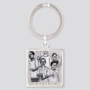 JKC - Long Island Stolen Lives Square Keychain