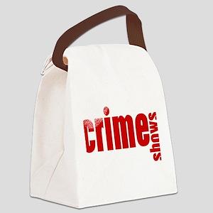 Crime Show Ideas Canvas Lunch Bag
