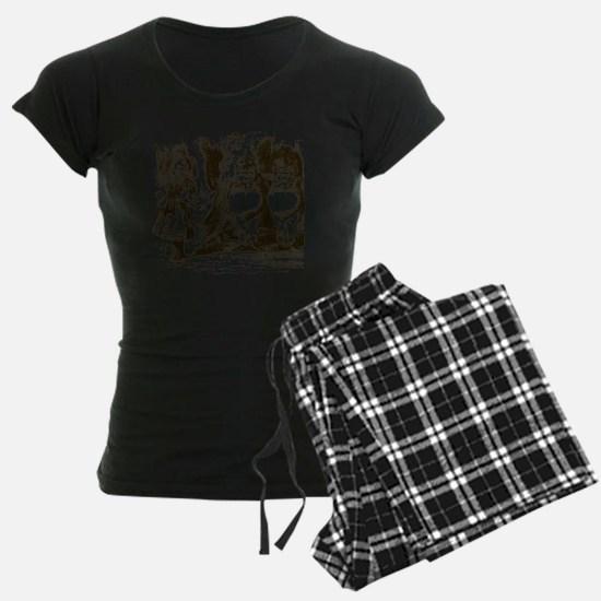 Tweedle Dee and Tweedle Dum Pajamas