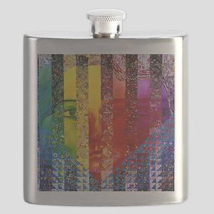 Conundrum I – Rainbow Woman Flask