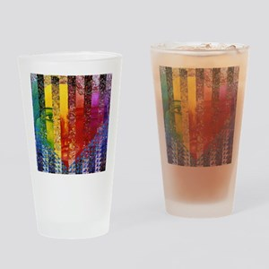 Conundrum I – Rainbow Woman Drinking Glass