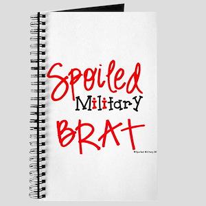 Spoiled BRAT RED Journal