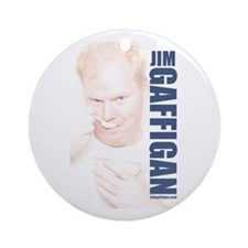 Jim Bowl Ornament (Round)