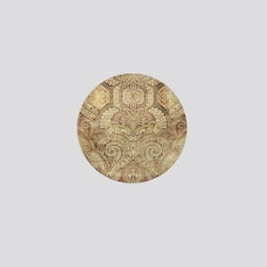 Oriental Vintage Pattern Mini Button