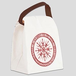 Aegishjalmur: Viking Protection R Canvas Lunch Bag