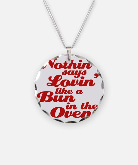 bun in the oven Necklace